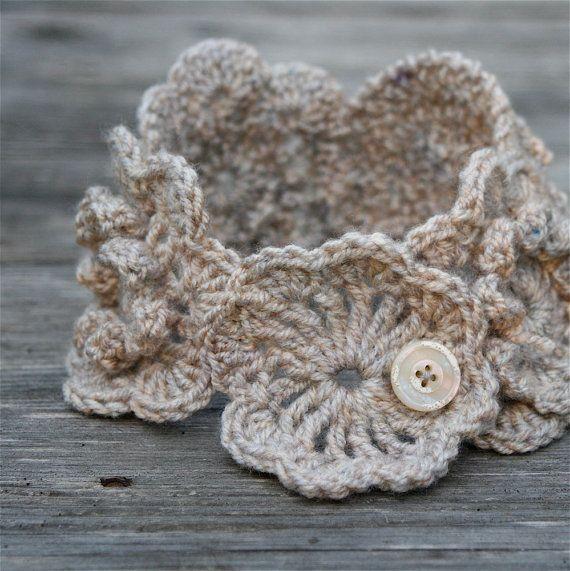 Crochet Neckwarmer Scarf Lily PDF PATTERN   ganchillo   Pinterest ...
