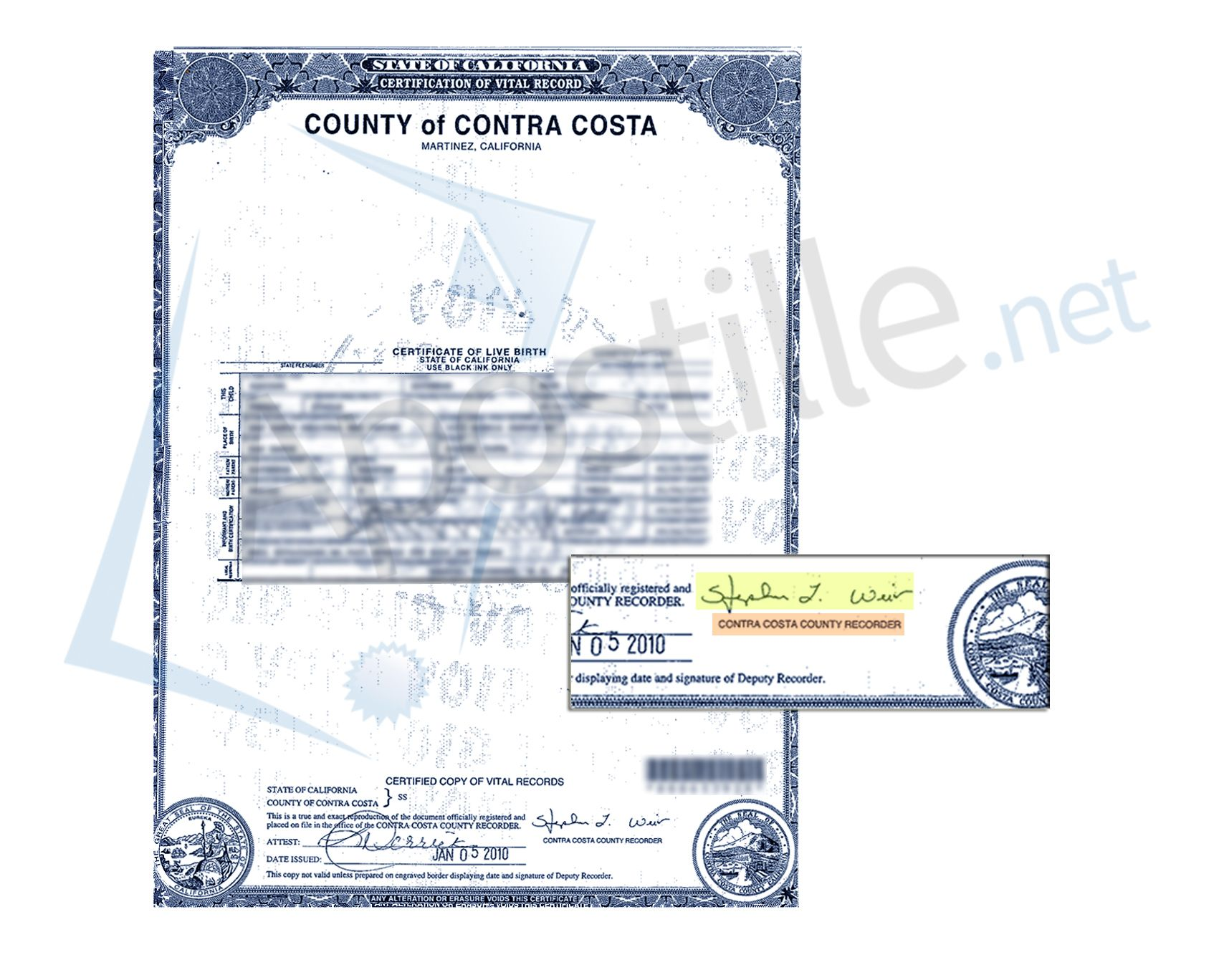 Complete apostille of a live birth certificate county of san complete apostille of a live birth certificate county of san diego california state of california sample apostille pinterest birth certificate aiddatafo Gallery