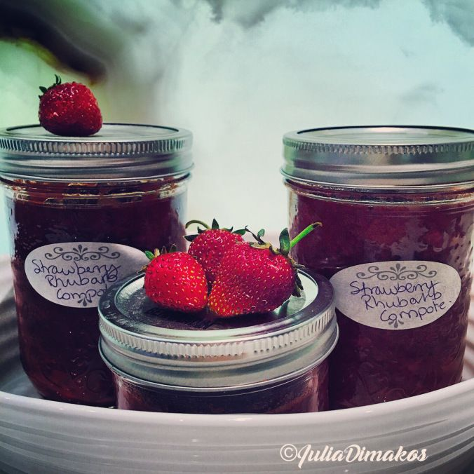 Strawberry & Rhubarb Compote