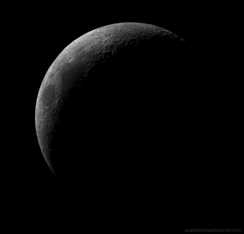Google Waxing Crescent Moon Photo Taken By Paul Stewart Paul Stewart Photo Moon