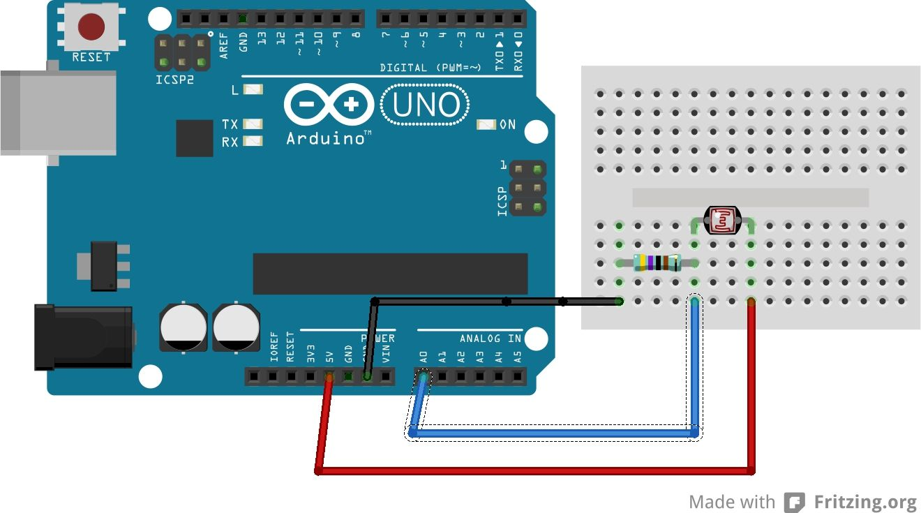 arduino capteur de luminosit arduino et ses d riv s. Black Bedroom Furniture Sets. Home Design Ideas