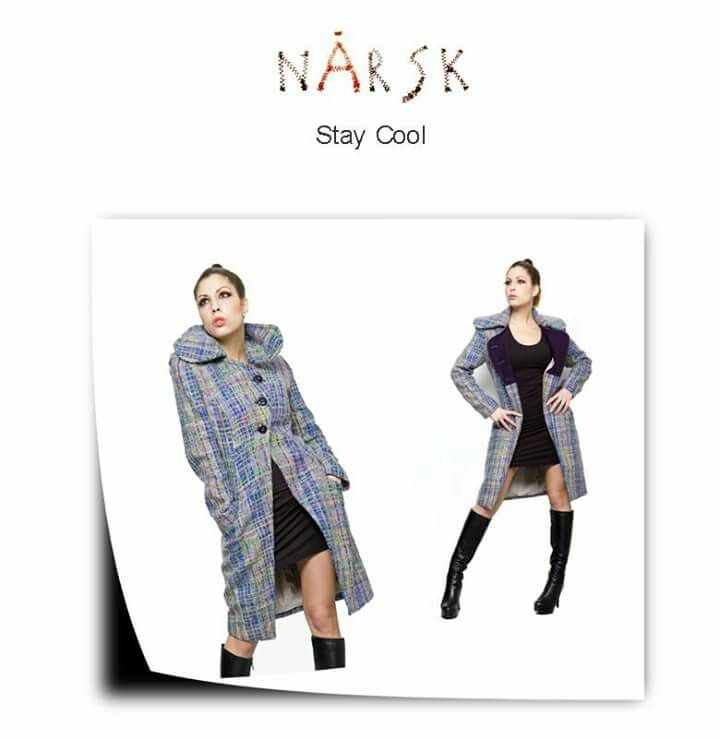 Stay Cool, By nÅrsk, https://narskfashion.wordpress.com/  Photo – Henrik Getz de Bethencourt Design – Ivelina Dagsvold Model – Virginia Sabeva