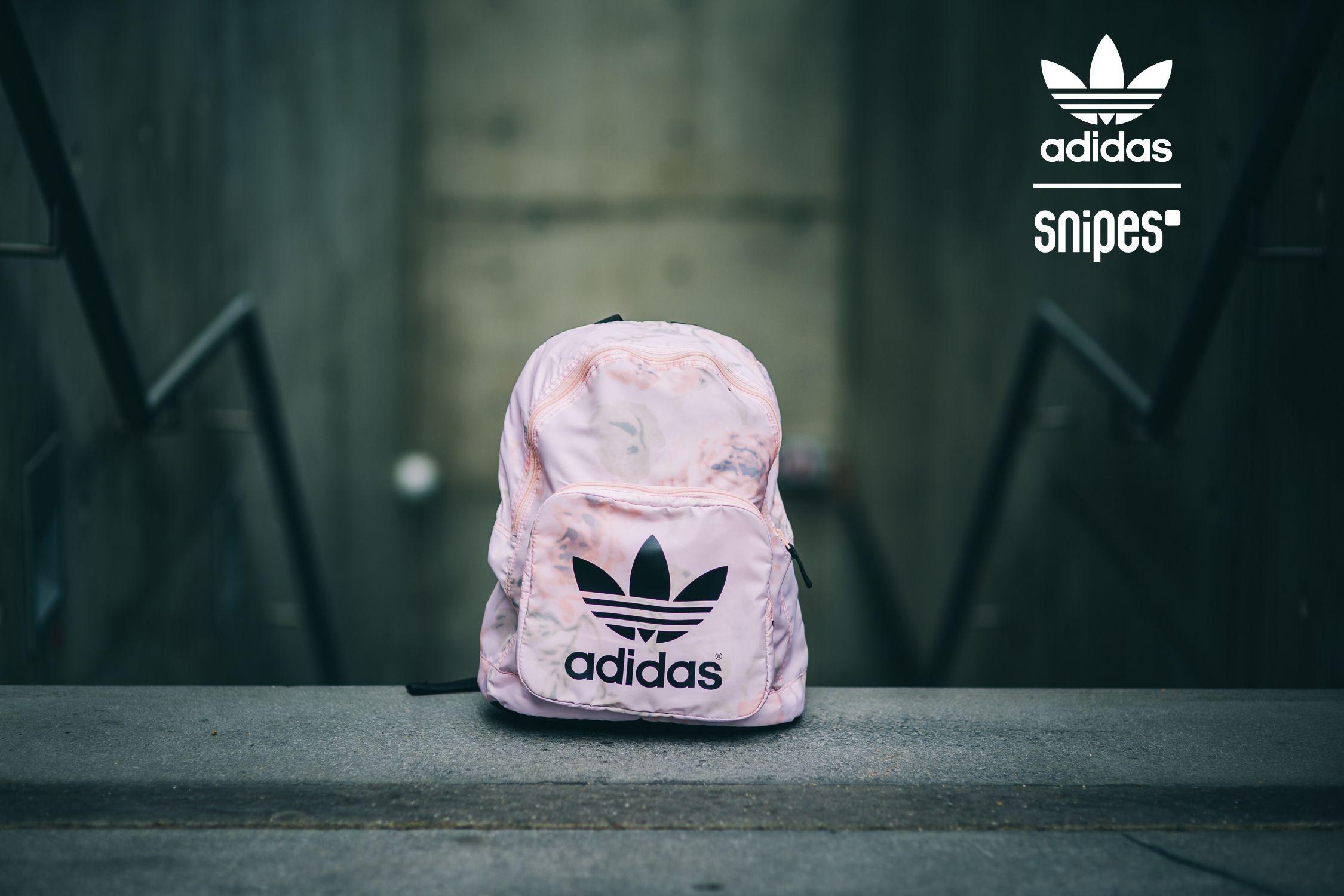 adidas pastel rose rucksack