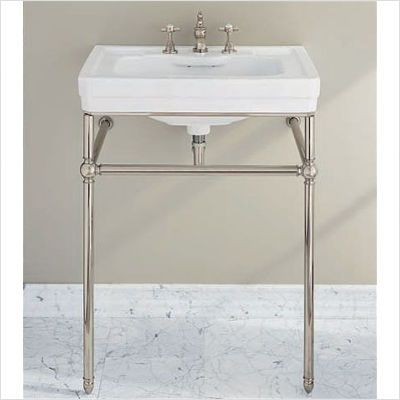 Porcher Lutezia Pedestal Sink Patiently Waiting In Our Garage For