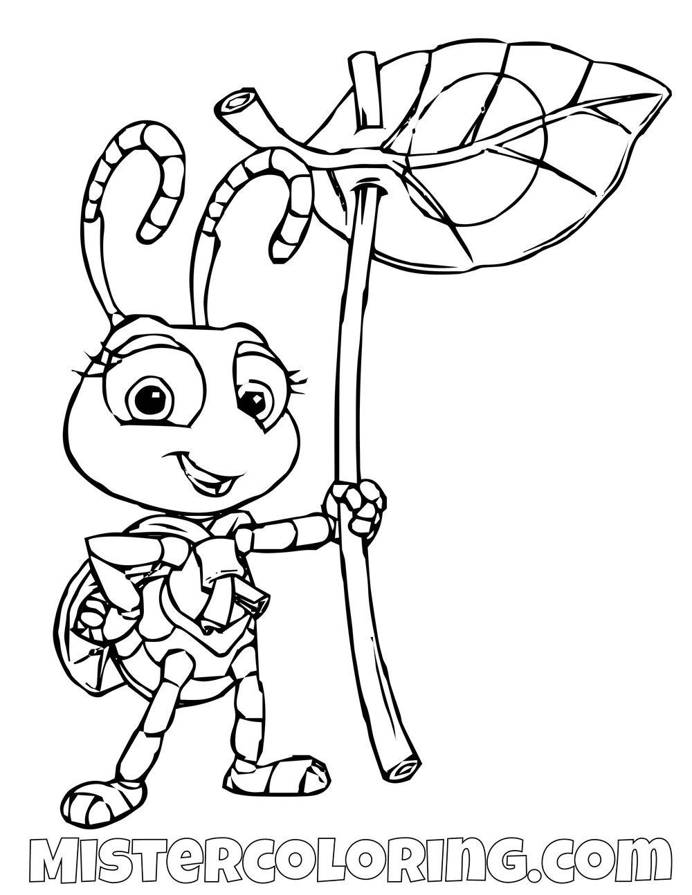 Bugs Life Coloring Pages A Bug S Life Coloring Pages For Kids Mister Coloring Unicorn Coloring Pages Monster Coloring Pages Cartoon Coloring Pages