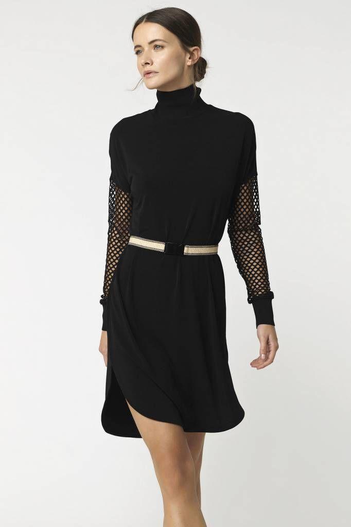 c7aeca8a9e By Malene Birger Avisca Dress - Black   RUM   Winter 2017 - Dresses ...