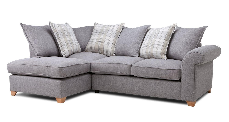 the best attitude 78109 f1f7c Sasha Right Arm Facing Pillow Back Corner Sofa Rupert | DFS ...