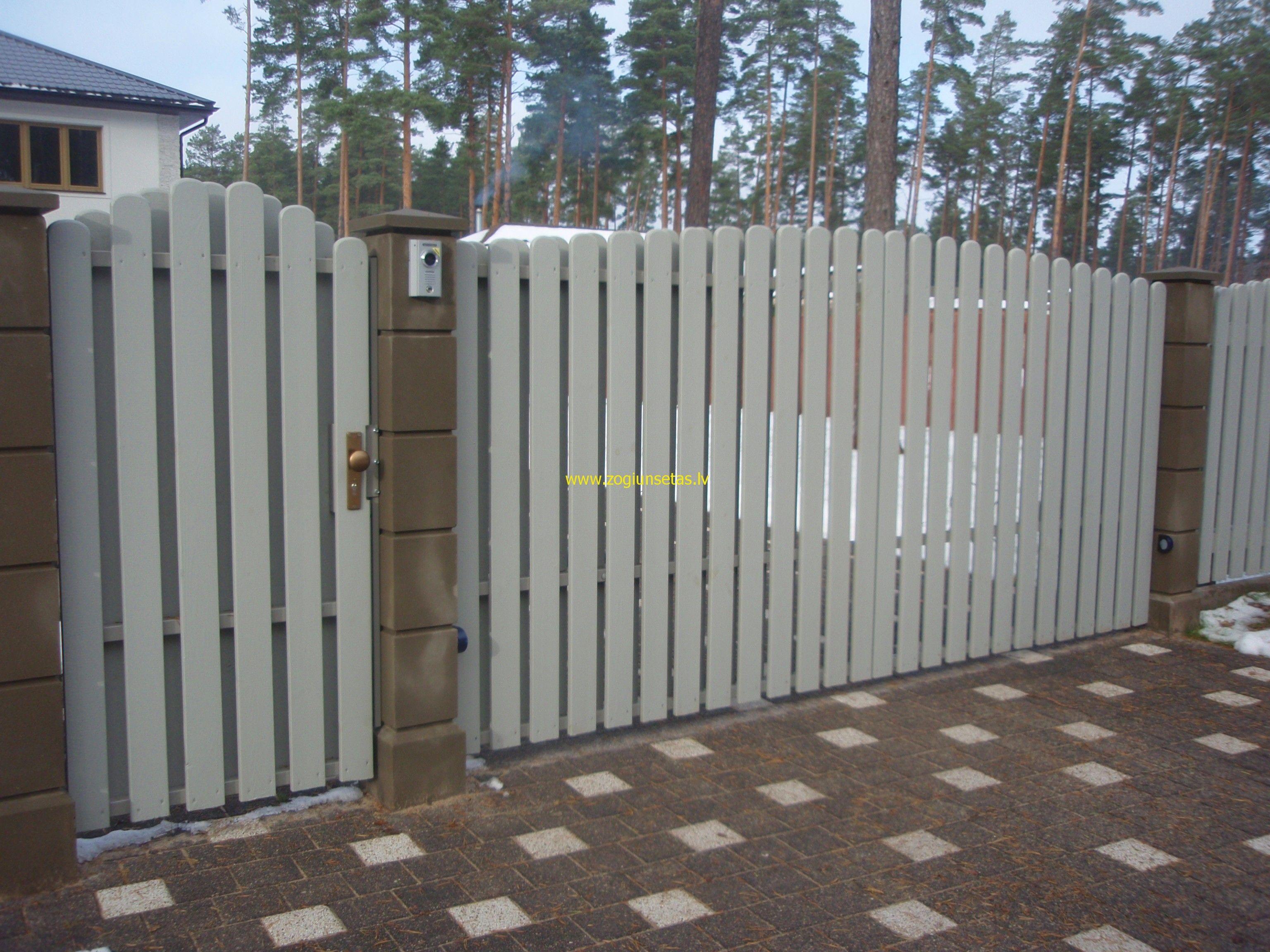 фактор ворота штакетник дерево фото сравнивали инаугурацию армейским