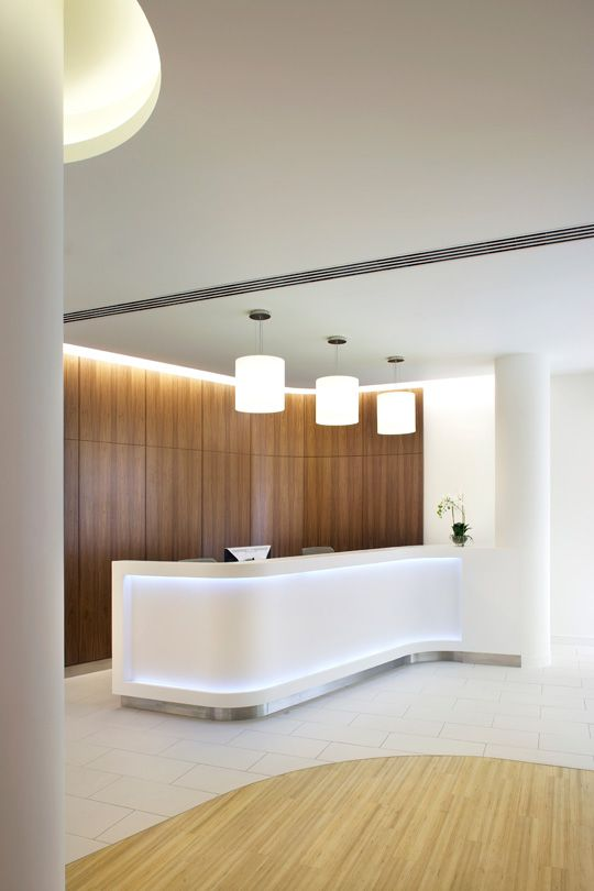 Artificial Daylight Recessed Lighting Clinic Interior