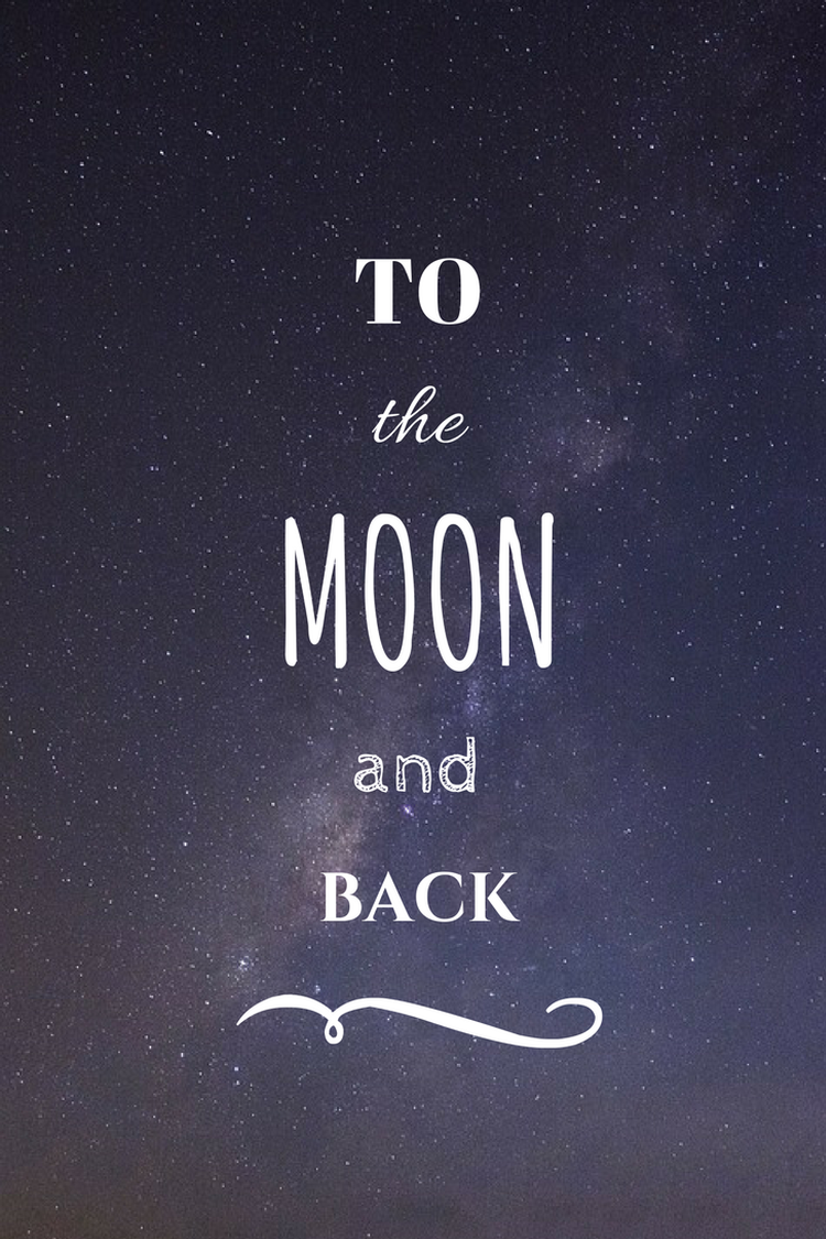 Galaxy wallpaper tumblr quotes iphone -  To The Moon And Back Night Sky Universum Tumblr Quotesiphone Backgroundsto The Moonwallpaperthe O Jaysnight Skiesabsgalaxiesphones