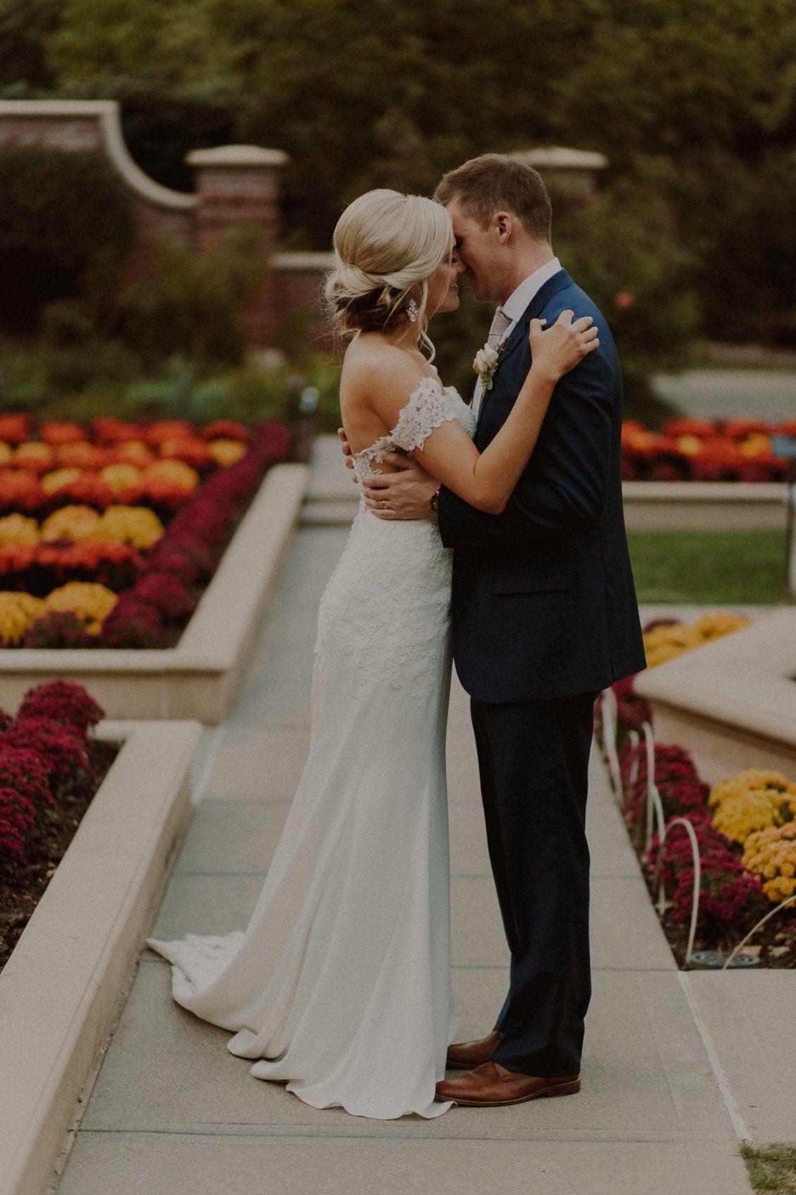 Brandon + Shannon / Lauritzen Gardens Wedding in Omaha ...  Lauritzen Gardens Wedding