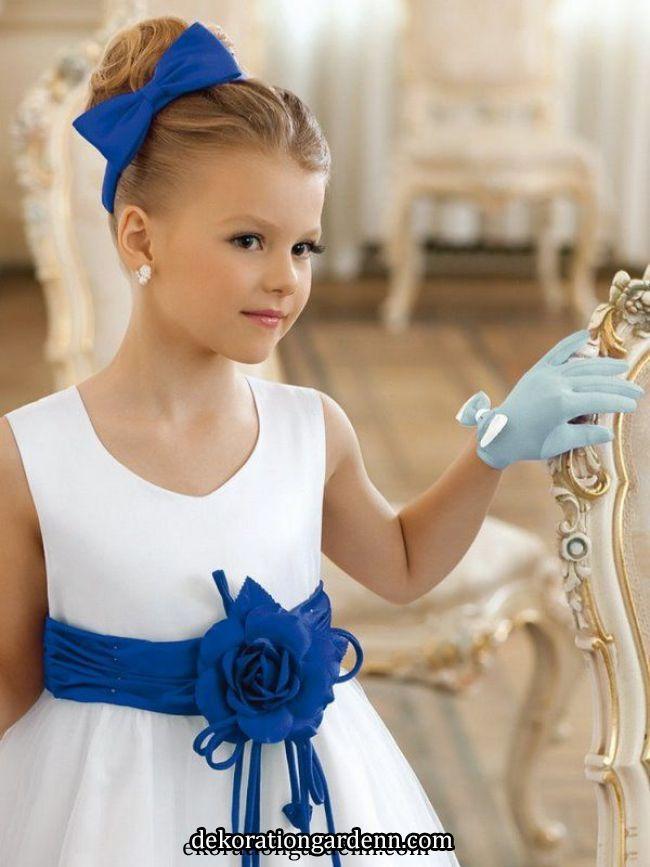 Frisuren für kleine Mädchen für lange und kurze Haare für ...