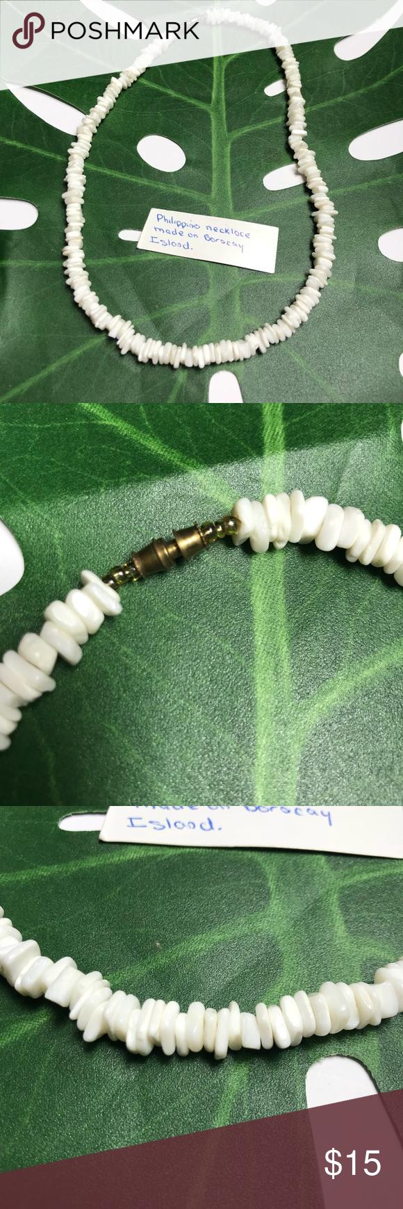 Handmade Shell Necklace Philippines Handmade shell