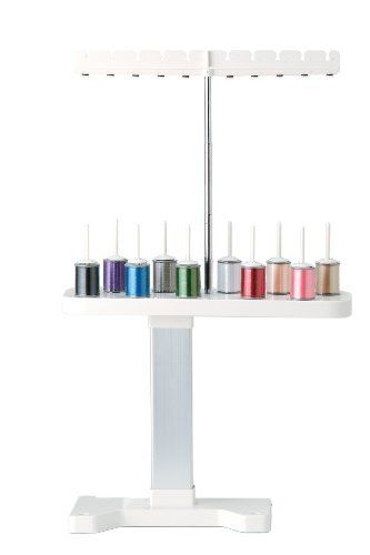 Amazon Com Brother Sa503 10 Spool Thread Stand Brother Embroidery Thread Floss Sewing Machine Reviews
