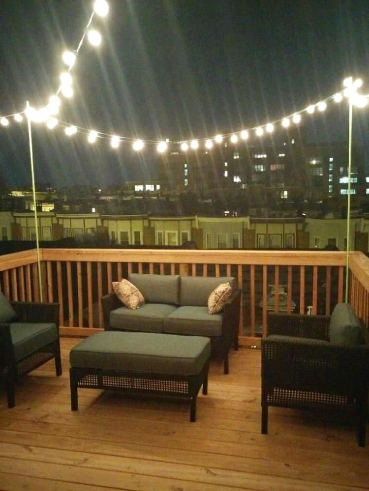 20 Stunning Rooftop Deck Lighting Ideas For Outdoor Living