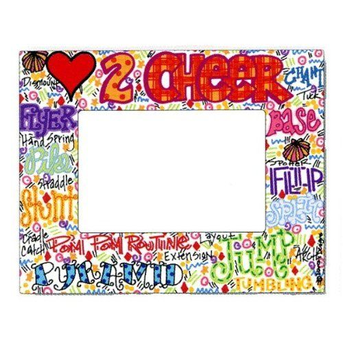 Cheer Doodle Frame by Dana\'s Designs. $24.99. Cheerleading themed ...