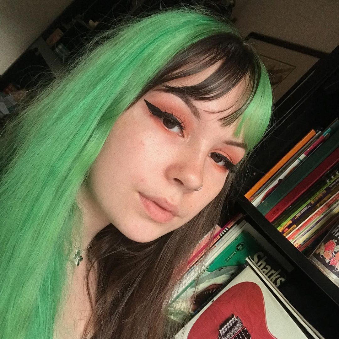 Pin On Green Hair