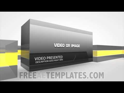 "video presentation pro"" free after effects video template- free, Powerpoint templates"