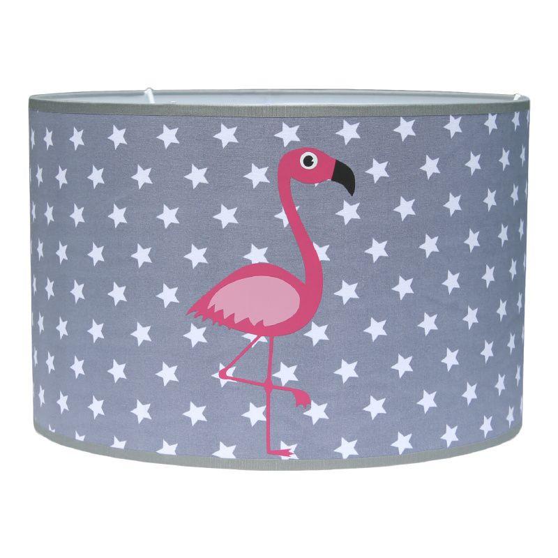 hanglamp kinderkamer grijs met flamingo's van roozje | hippe, Deco ideeën