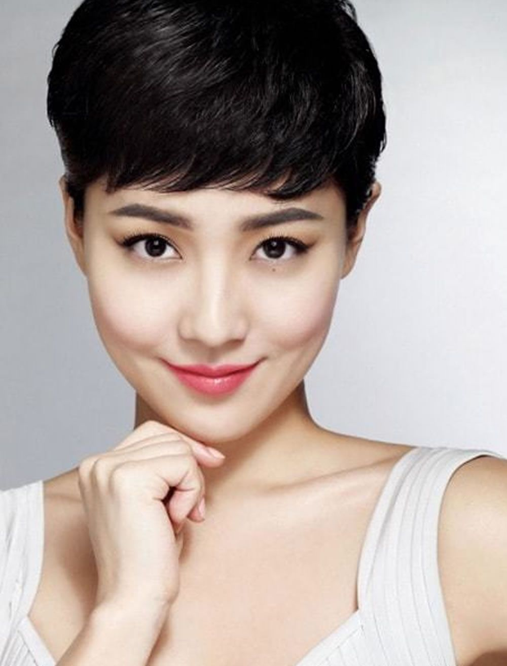 Asian women inspired short haircuts in hairstyles pinterest