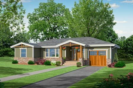 Updating a ranch style house exterior house design plans for Exterior updates for ranch style homes