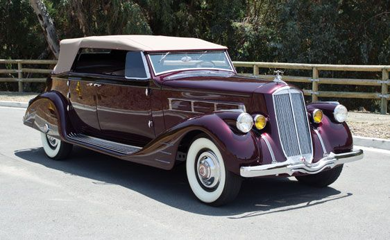1938 Pierce Arrow Convertible Phaeton Classic Cars Usa American