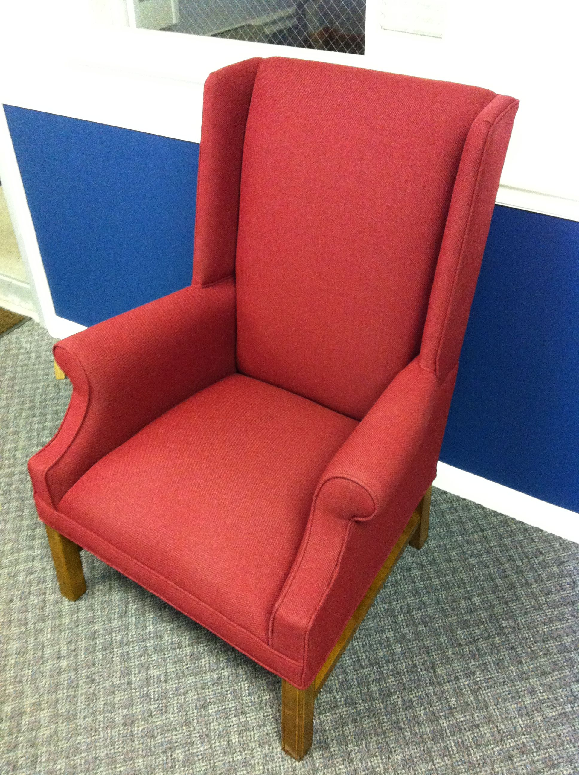 Pulpit Wingback church chair