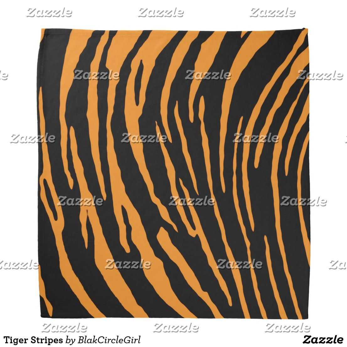 Tiger Stripes Bandana Tigerstripes Bandanna Zazzle