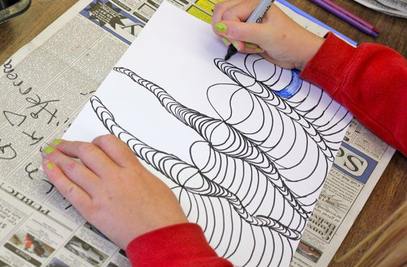 Line Drawing Ks2 : Got some time on your hands this line art is great for sub plans