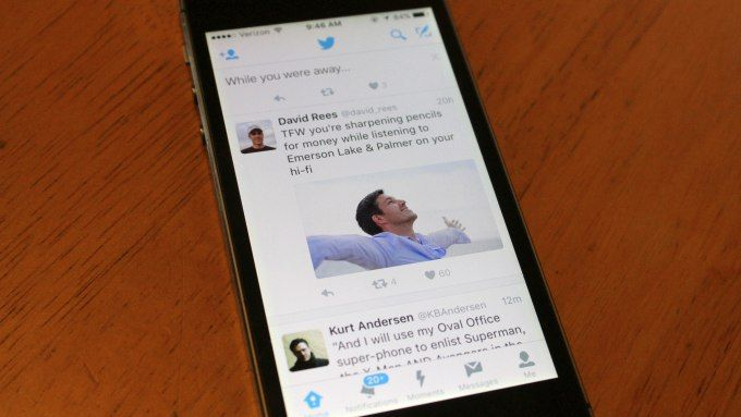 Twitter says few users have opted out of its new, algorithmic timeline -  Despite reports to the contrary, Twitter's new algorithmic timeline, announced last month, has only now reached all of Twitter's user base. That being said, the company does have some early data on how well this updated timeline experience has been performing so far. According... http://tvseriesfullepisodes.com/index.php/2016/03/18/twitter-says-few-users-have-opted-out-of-its-new-algori