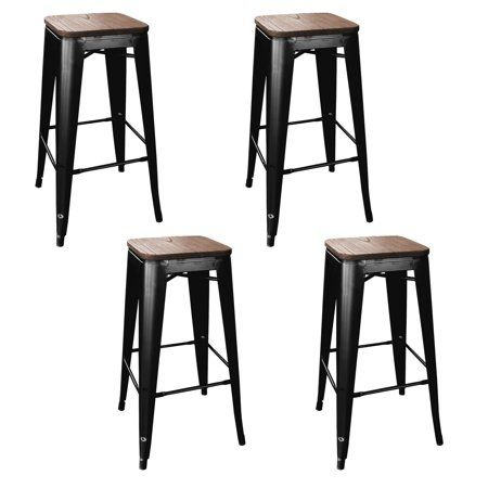 Home Metal Bar Stools Bar Stools Black Bar Stools