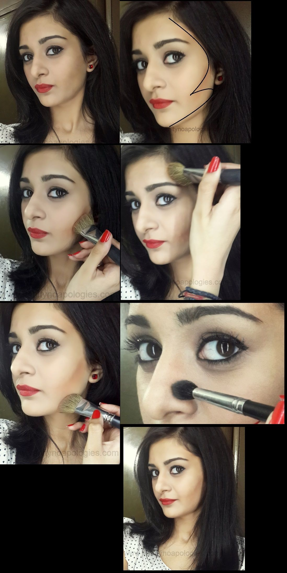 Tutorial: How To Contour Your Face To Look Thinner | My Hijab ...