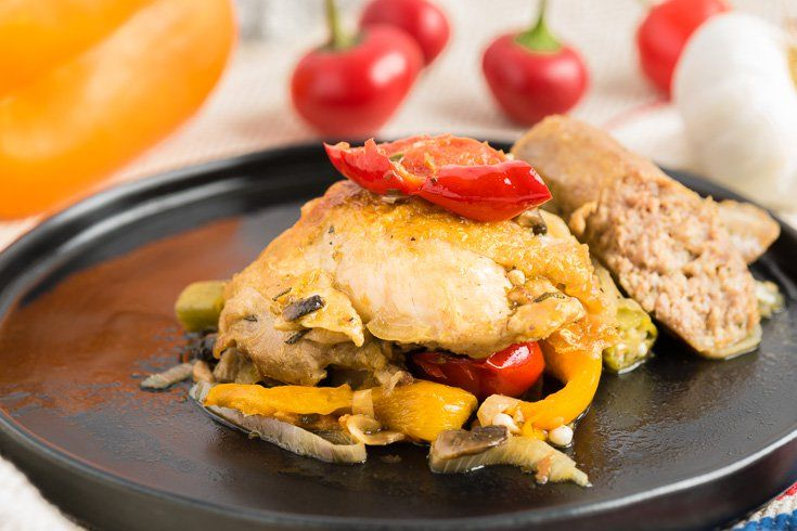 Chicken Scarpariello With Sausage and Peppers Recipe - Dr. Axe