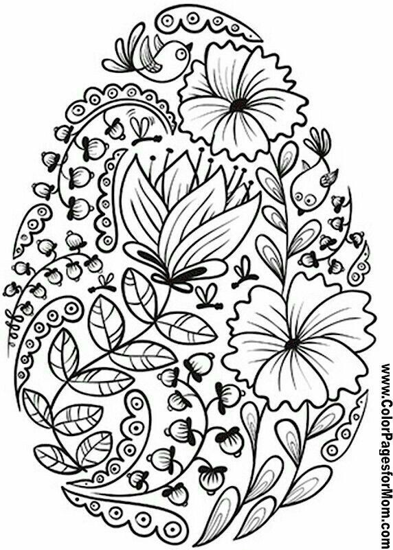 Pin By Wendy Brown On Russian Eggs Coloring Easter Eggs Egg Coloring Page Easter Egg Coloring Pages