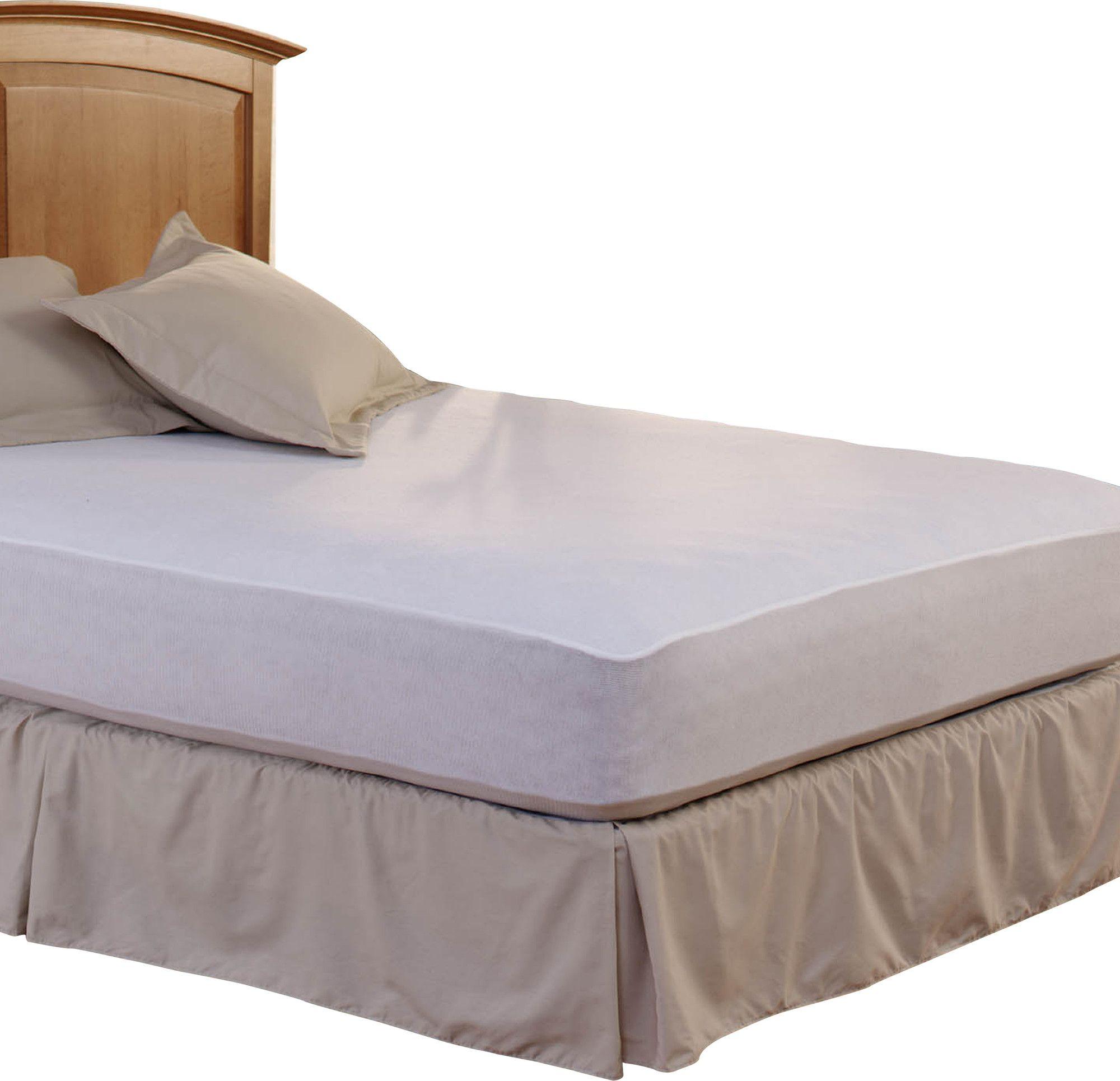 waterproof 400 thread count mattress pad bedding pinterest