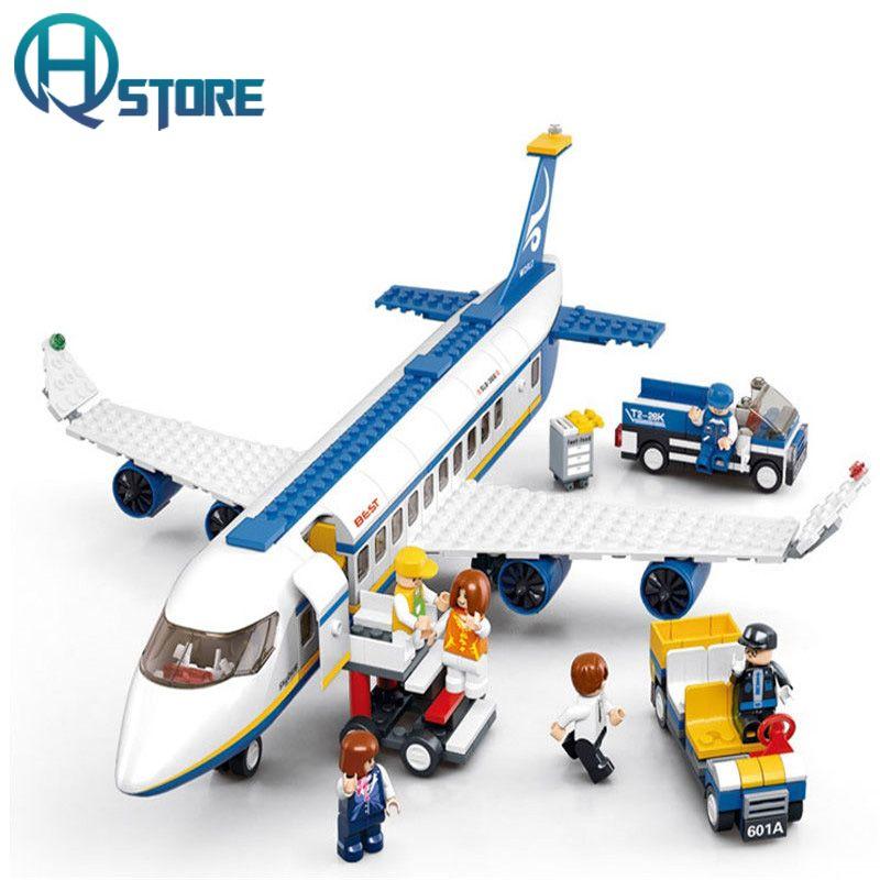 Sluban Aviation B0361 Water Airplane Figures Building Blocks Toy DIY