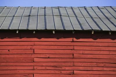 Crafts Projects Using Old Metal Roofing Ehow Com Galvanized Metal Roof Roof Colors Corrugated Metal Roof