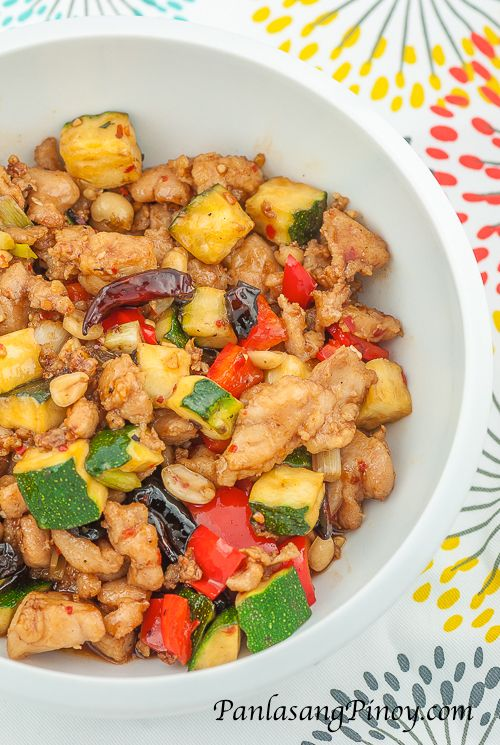 Kung Pao Chicken Recipe Asian And Filipino Delicacies