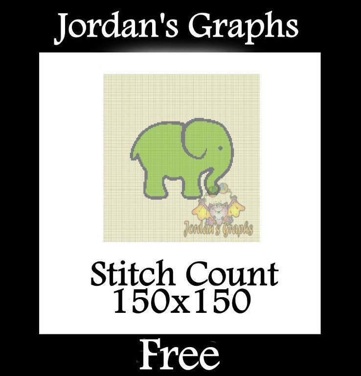 (4) Name: 'Crocheting : Baby Elephant