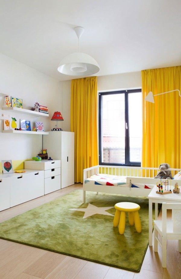 Geel en groen interieur | kinderkamer - Makeover.nl | kamer Scott ...