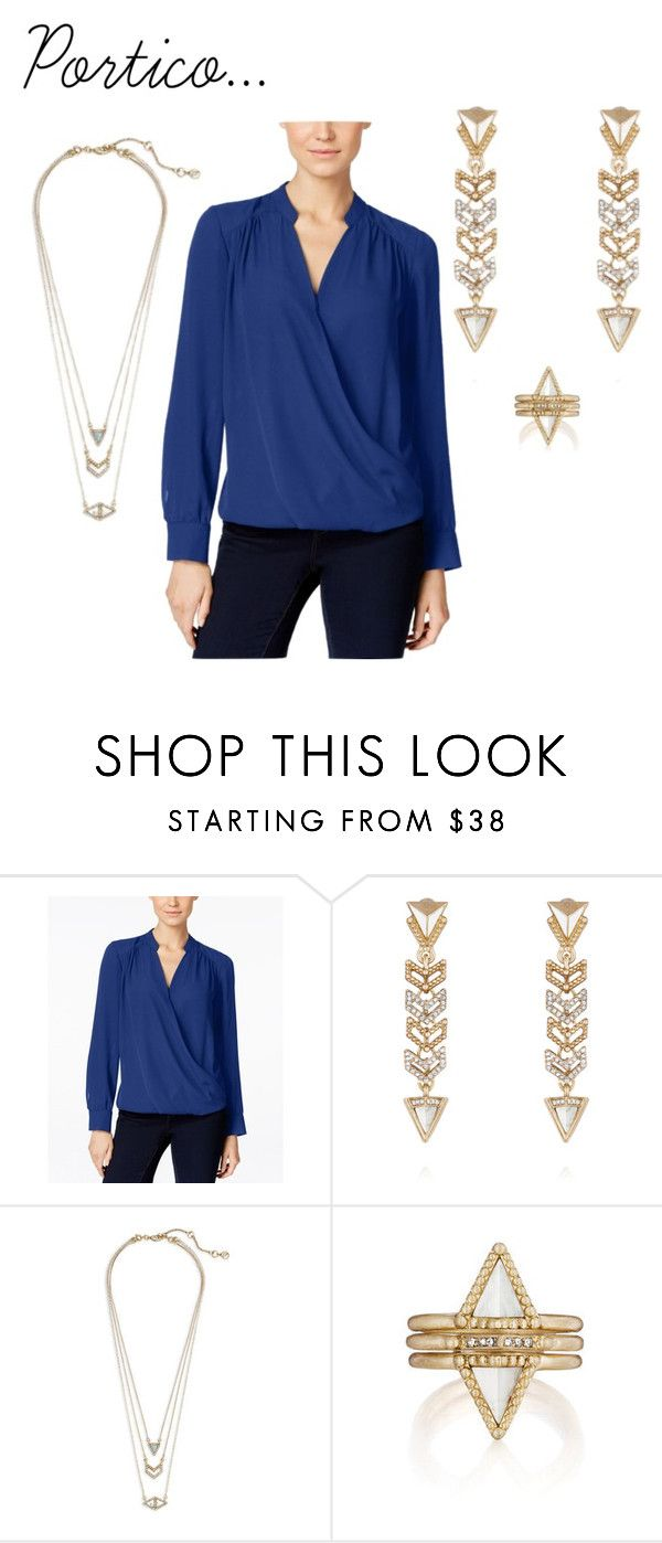Portico by eryn-shimizu on Polyvore featuring INC International Concepts, Chloe + Isabel, women's clothing, women's fashion, women, female, woman, misses and juniors