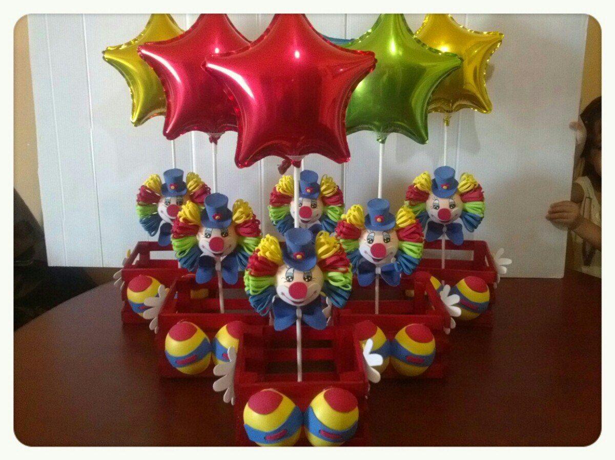 Invitaciones de payasos originales buscar con google for Mesas fiestas infantiles