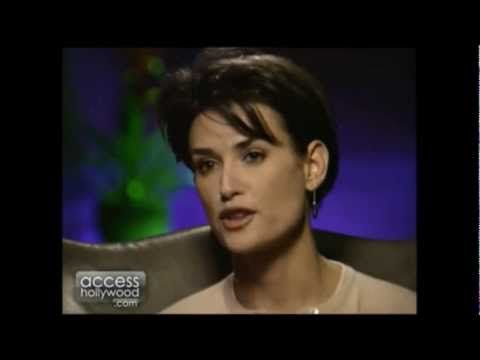 Demi Moore Interview for G.I. Jane | Demi moore, Youtube ...