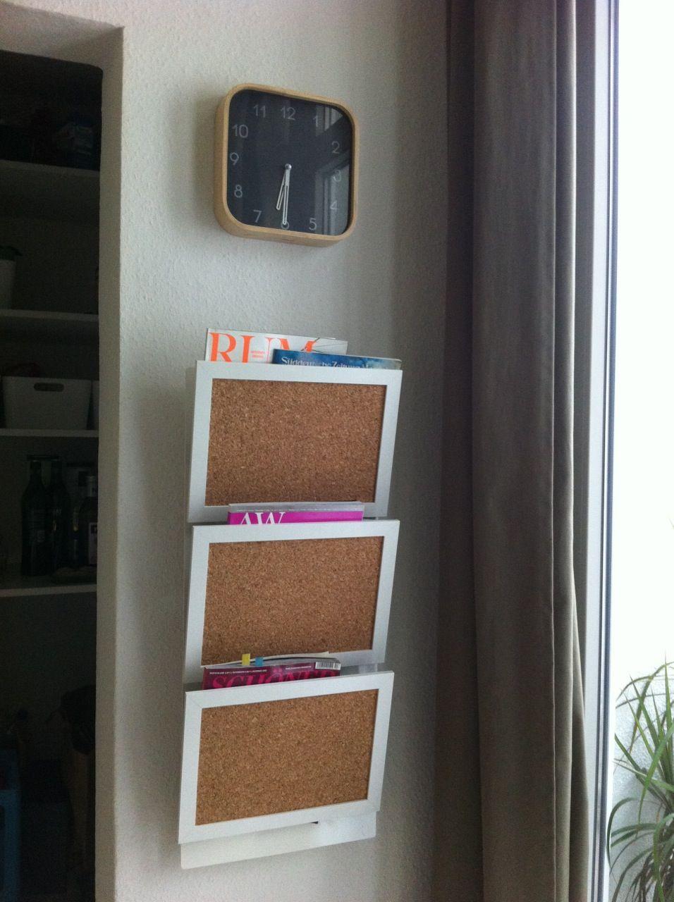 Spontaneous Nyttja Pin Board Hack Zeitungshalter Ikea Mobel
