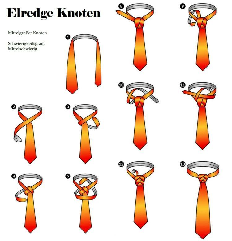 Schlips Binden Mit Extravaganten Knoten 8 Anleitungen Für