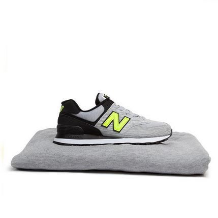 It's soft, and oh so comfy. And it's a trainer? Yep. We like the New Balance 574 in grey jersey alot. @schuhshoes