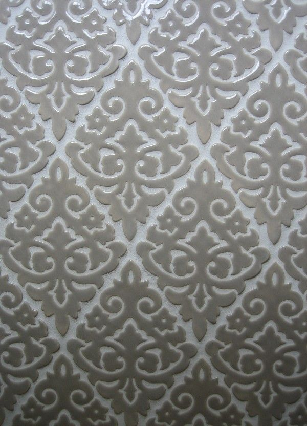 Find Unique Tile For Your Kitchen Backsplash. Featured Here Is Our Damask  Handmade Tile In