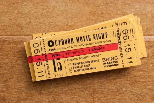 Outdoor Movie Night Invitations, Need To Find A Copy Of Photoshop.