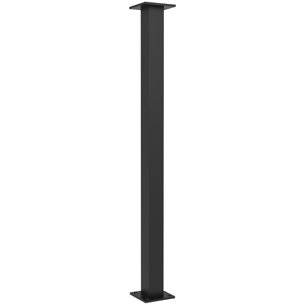 The Trajan Countertop Leg Support Is Made With A 2 Inch Square