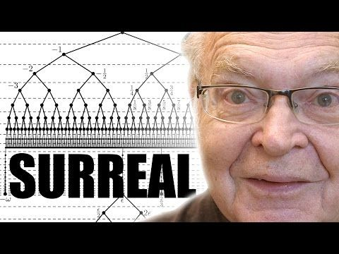 Surreal Numbers (writing the first book) - Numberphile - YouTube